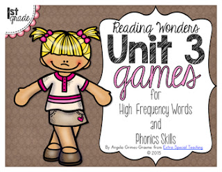 Do you use Reading Wonders in your 1st grade classroom? Here's I supplement Reading Wonders with centers, games, and printable during reading.