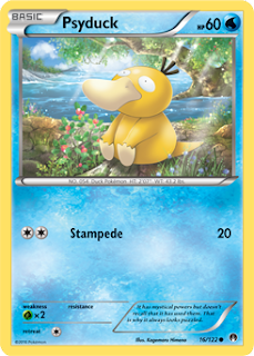 Psyduck BREAKpoint Pokemon Card