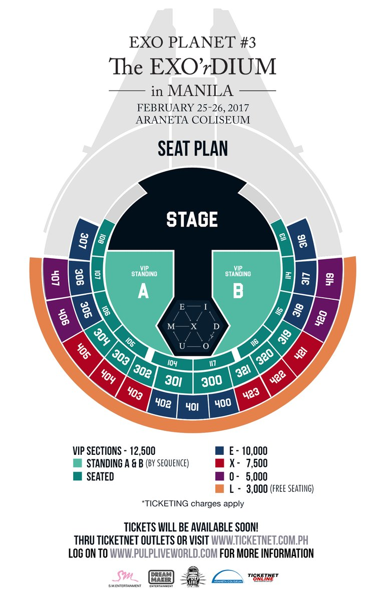 Exo Planet #3: The Exo'rdium in Manila 2017 ~ MANILA ...