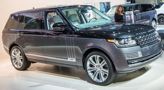 новый Land Rover Range Rover