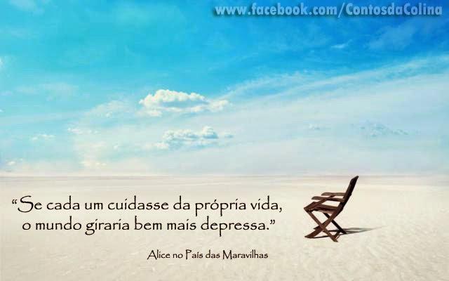 Frases com fotos para Facebook Google Plus e outras redes sociais-praia-alice-no-país-das-maravilhas