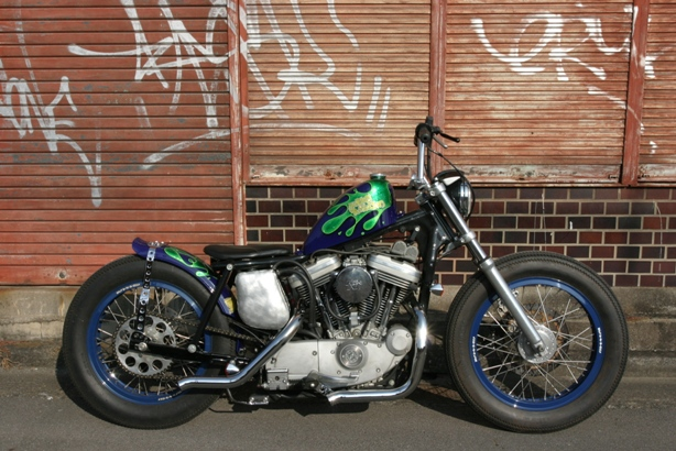 Ironhead another evo in a iron head frame thread!!! - The Sportster