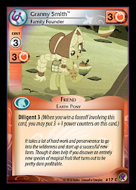 My Little Pony Granny Smith, Family Founder Marks in Time CCG Card
