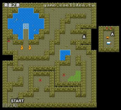 勇者鬥惡龍2地圖 勇者之泉