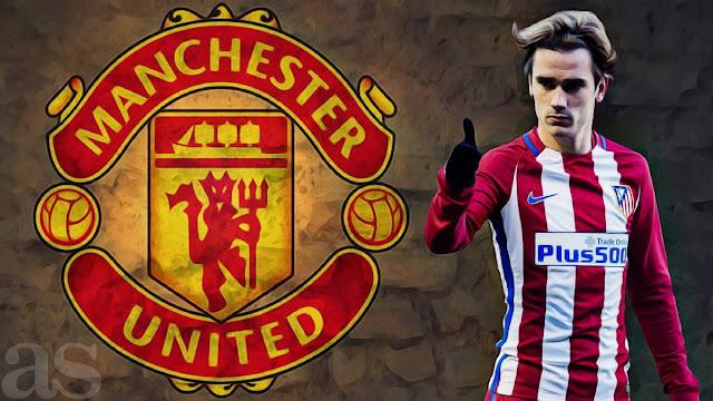 Manchester United Siap Membajak Transfer Antoine Griezmann