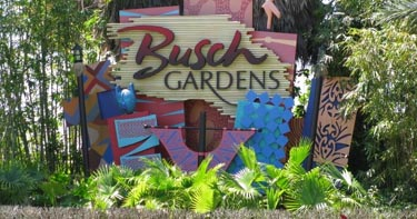 Four legged friends and enemies florida joseph corrao spends his time collecting disability for Busch gardens first responders