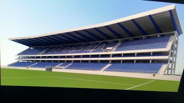 Stadion Mladost in Strumica wird renoviert