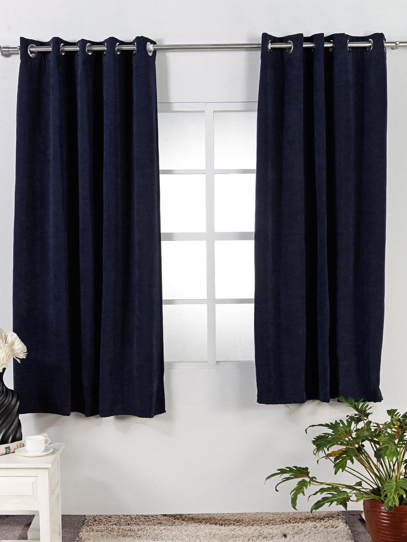 Wonderful Hjem interiør design: Marvelous Navy blå gardiner HC-08