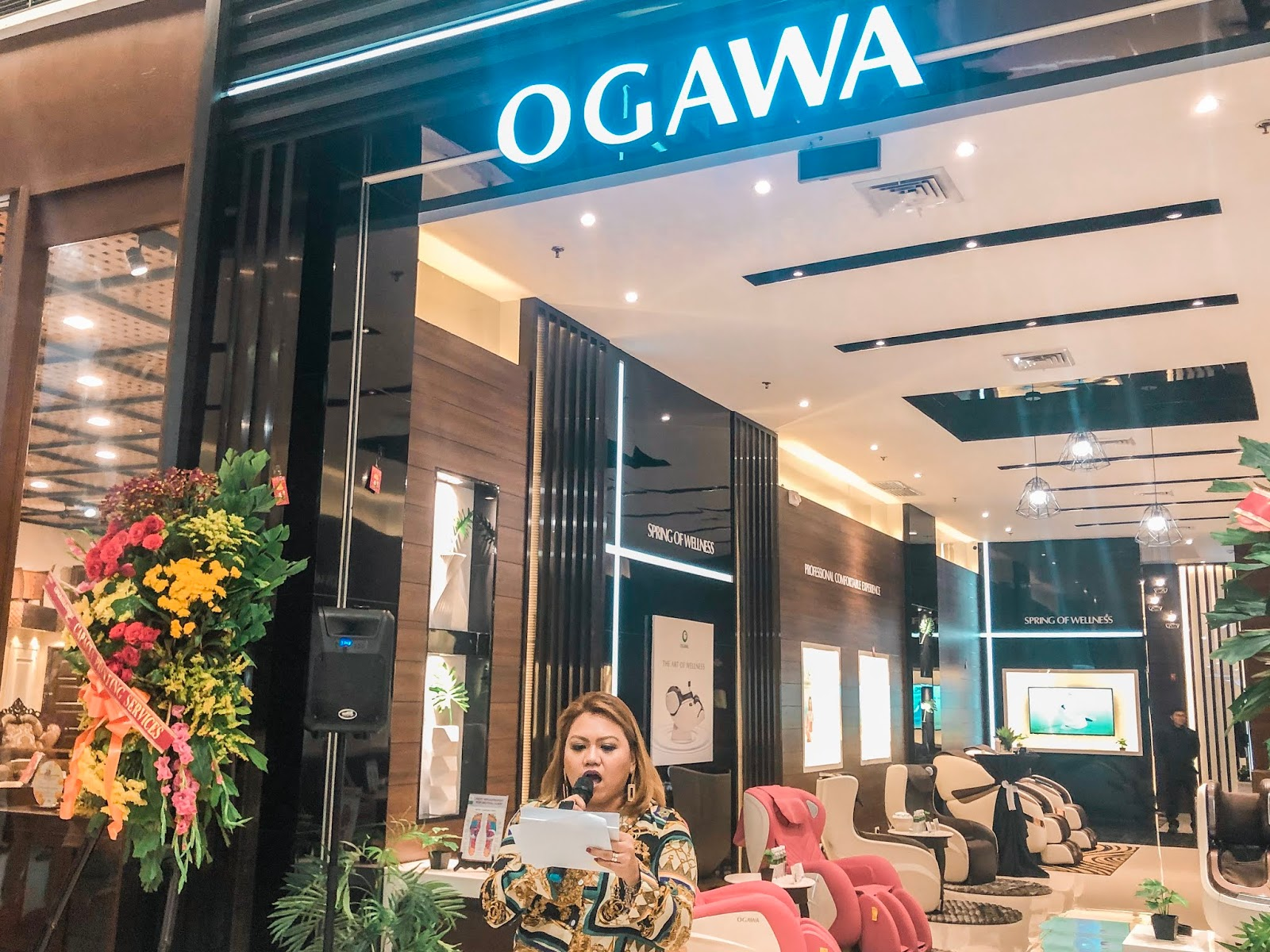 Malaysian Wellness Company, Ogawa, Opens First Store in Cebu