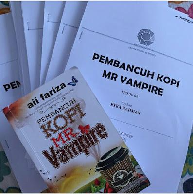 Sinopsis Drama Pembancuh Kopi Mr Vampire