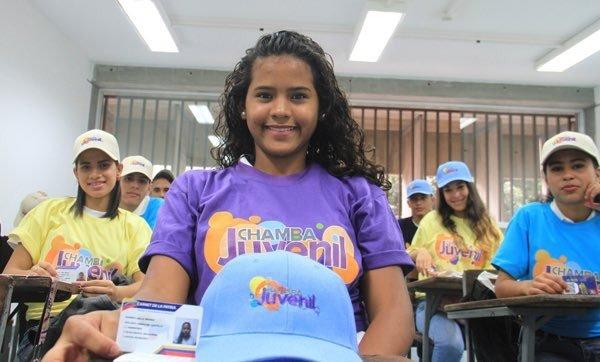 Este 20 de junio Plan Chamba Juvenil será una Gran Misión