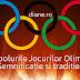 Care sunt simbolurile Jocurilor Olimpice?  – Semnificație și tradiție