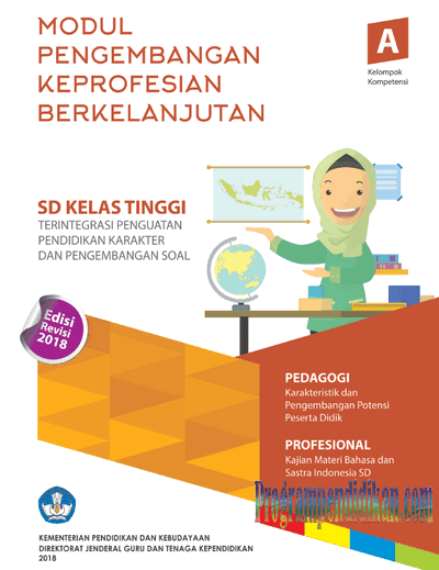 Download Modul PKB SD Kelas Tinggi Revisi 2018