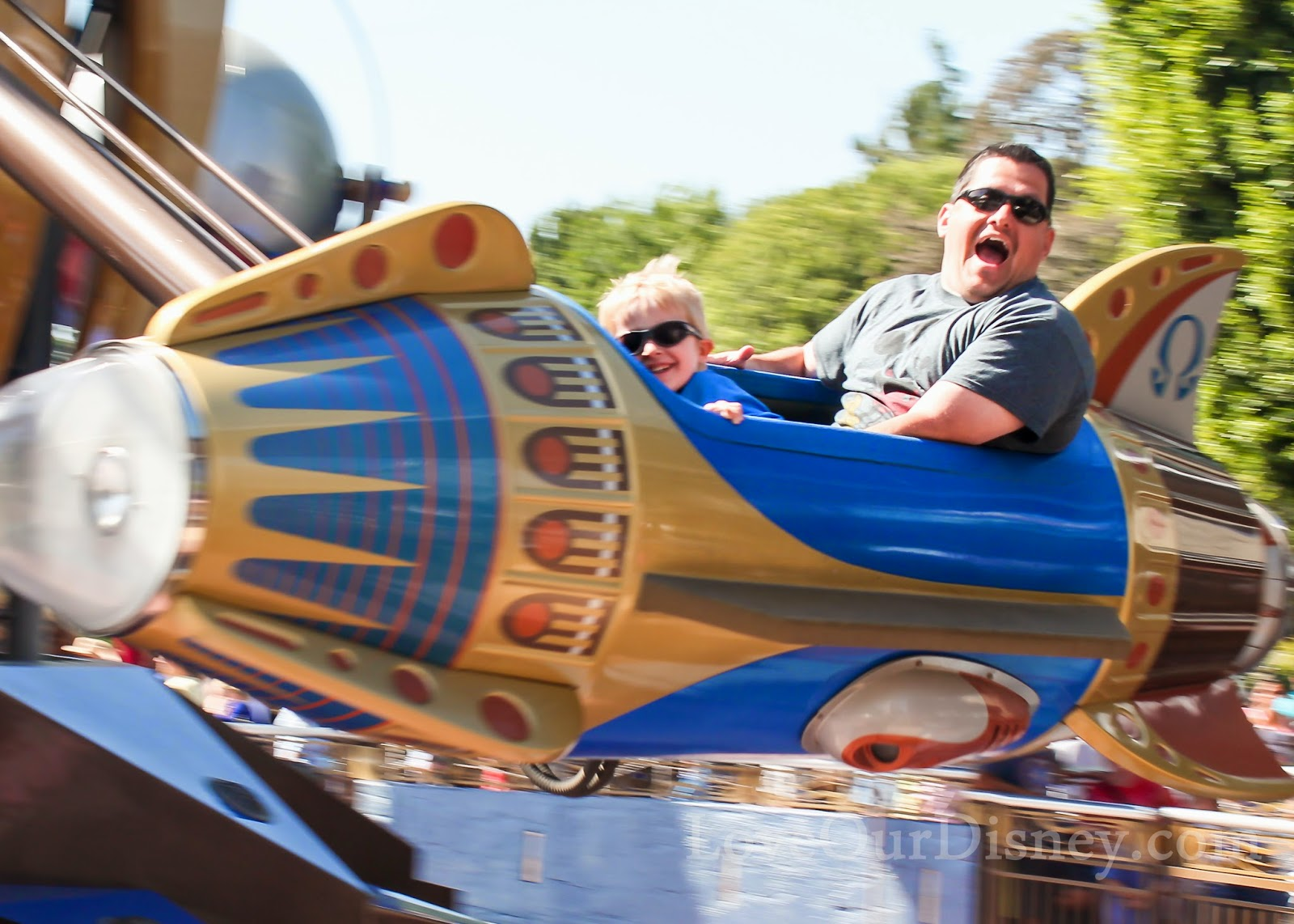 Preschoolers love the Astro Orbiter and these other rides at Disneyland. LoveOurDisney.com