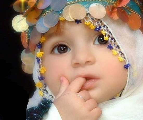 Best Kids Wallpapers: I Am A Cute Arabic Baby