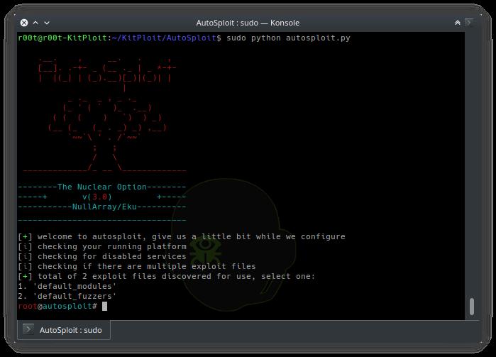 AutoSploit v3 0 - Automated Mass Exploiter