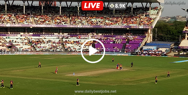 KKR Vs SRH Live Streaming 2nd T20 Cricket Live Score IPL 2019