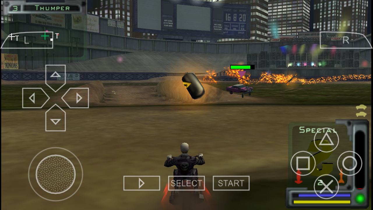 Twisted Metal For Ppsspp