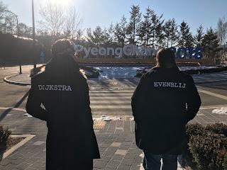 Frank en Erik stomen sporters en fans klaar voor de Spelen in Zuid-Korea