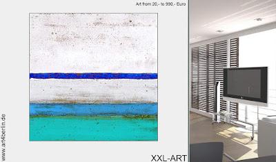 Großformatige Acrylbilder und moderne, abstrakte Kunst
