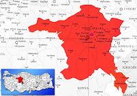 Etimesgut ilçesinin nerede olduğunu gösteren harita