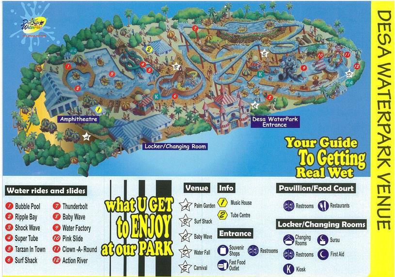 Senarai Taman Tema Di Seluruh Selangor & Kuala Lumpur- Desa Water Park