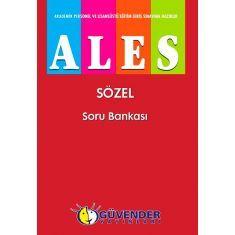 Güvender ALES Sözel Soru Bankası