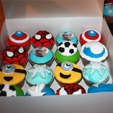 Cupcakes Héros de Manière de Pâtissière