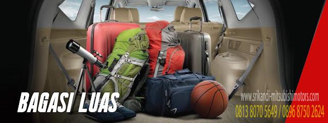 fitur bagasi yang luas memberikan kenyamanan untuk membawa barang lebih banyak