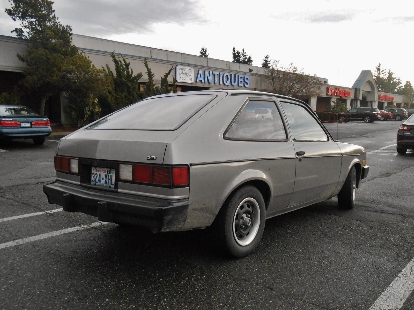 Seattle's Parked Cars: 1983 Chevrolet Chevette