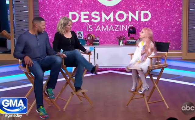 """Absurdo: """"Rainha Drag Queen de 11 anos"""" é promovida em programa diário de TV"""