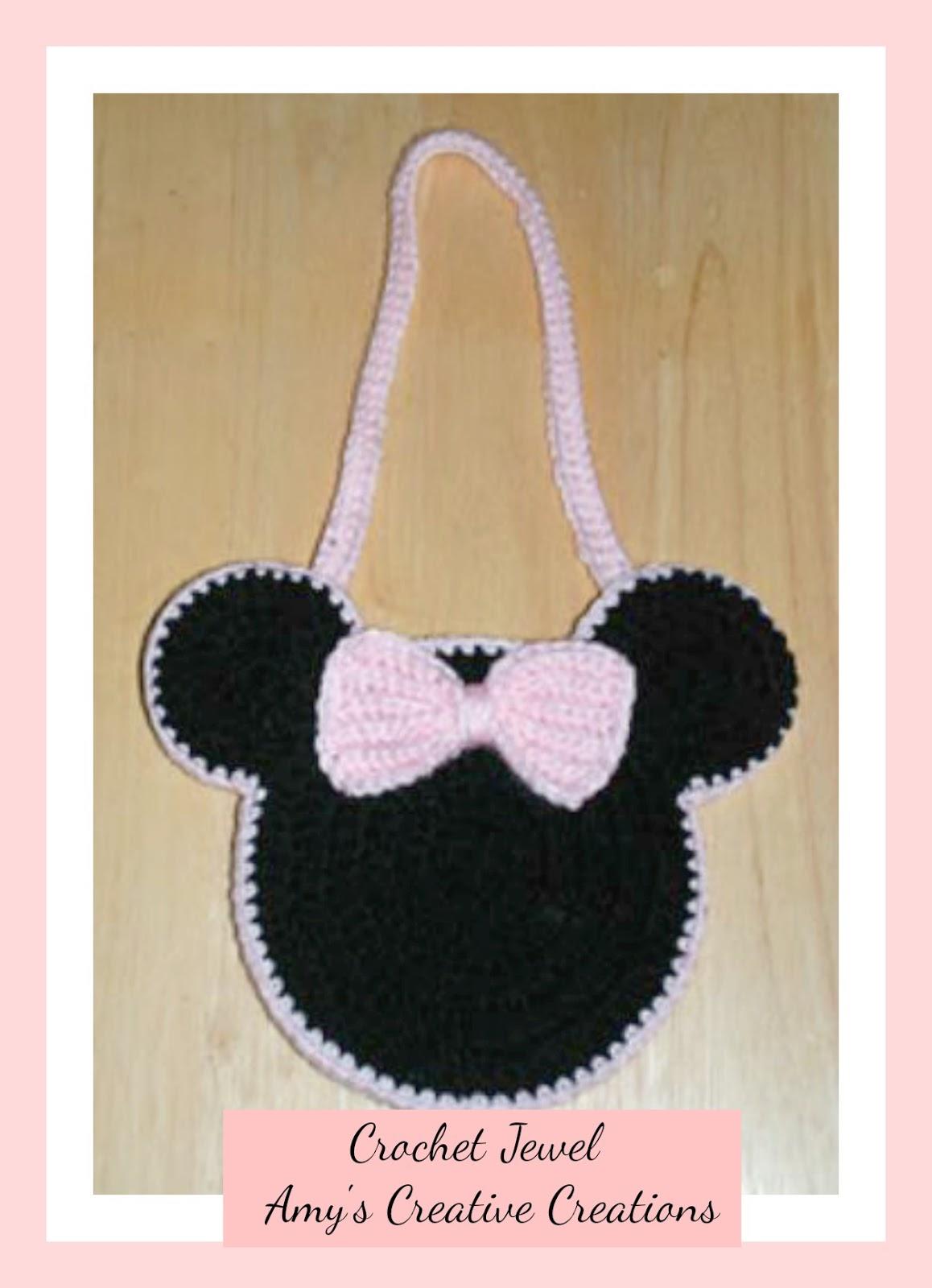Amy\'s Crochet Creative Creations: Crochet Mouse Ears Purse