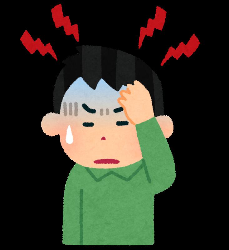 図:脳梗塞の頭痛