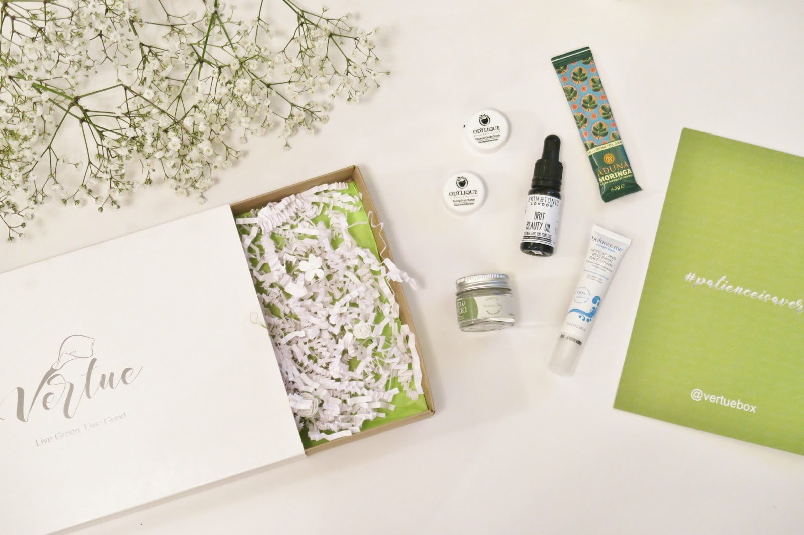 Natural & Organic Beauty Box | Vertue Box