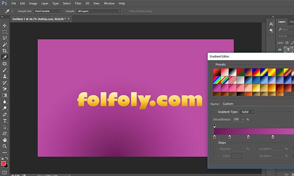 تحميل تدرجات فوتوشوب photoshop gradients