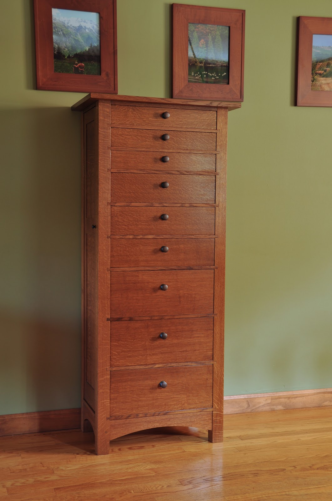 Honey Do Woodworking: Jewelry Armoire / Lingerie Chest ...