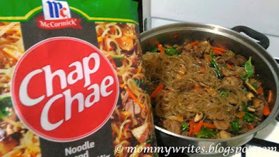 Enjoy Delicious Chap Chae at Home with McCormick's Noodle and Seasoning Mix