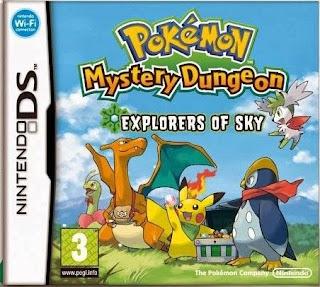 Pokemon Mundo Misterioso: Exploradores del Cielo, NDS, Español, Mega, Mediafire