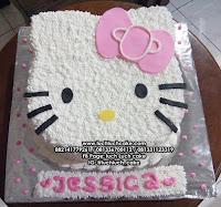 Kue Tart Hello Kitty Pink Lucu dan Unik