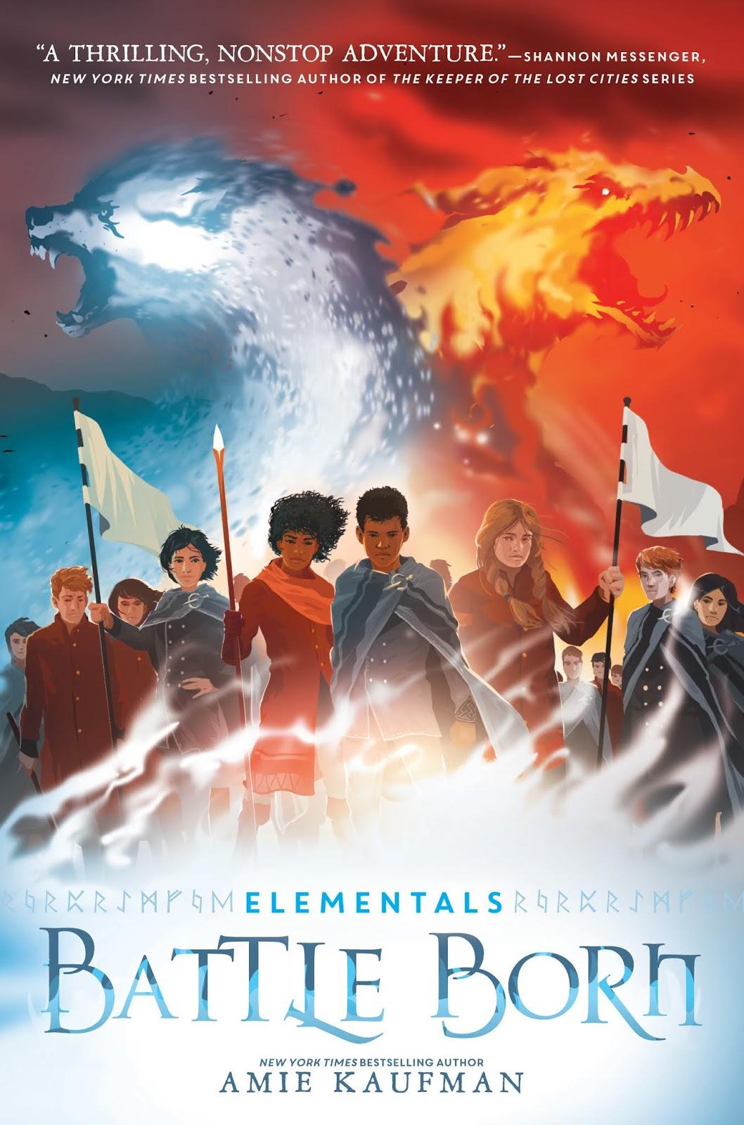 Elementals: Battle Born by Amie Kaufman
