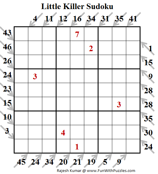 Little Killer Sudoku (Puzzles for Teens #177)