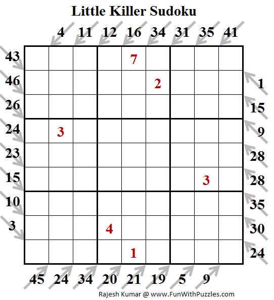 Little Killer Sudoku (Puzzles for Teens #177)