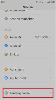 Cara aktifkan Opsi Pengembang di HP Xiaomi