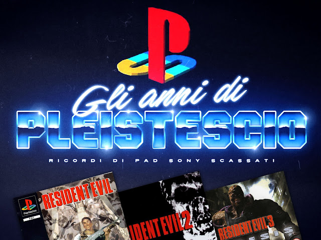 Resident Evil playstation 1 serie ricordi