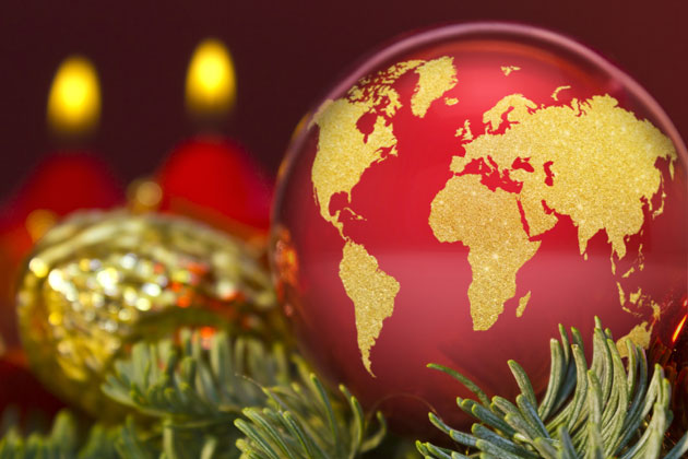 the holidays are praised over the globe travel the world over with a worldwide nourishment themed holiday party - Christmas Around The World Decorations
