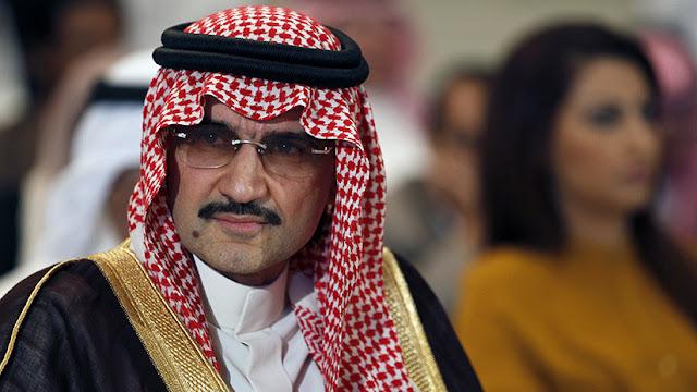 """El príncipe más acaudalado de Arabia Saudita ofrece """"cierta cifra"""" para su liberación"""