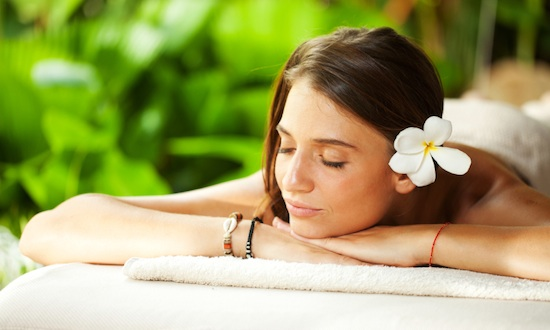 Woman Spa Relaxation