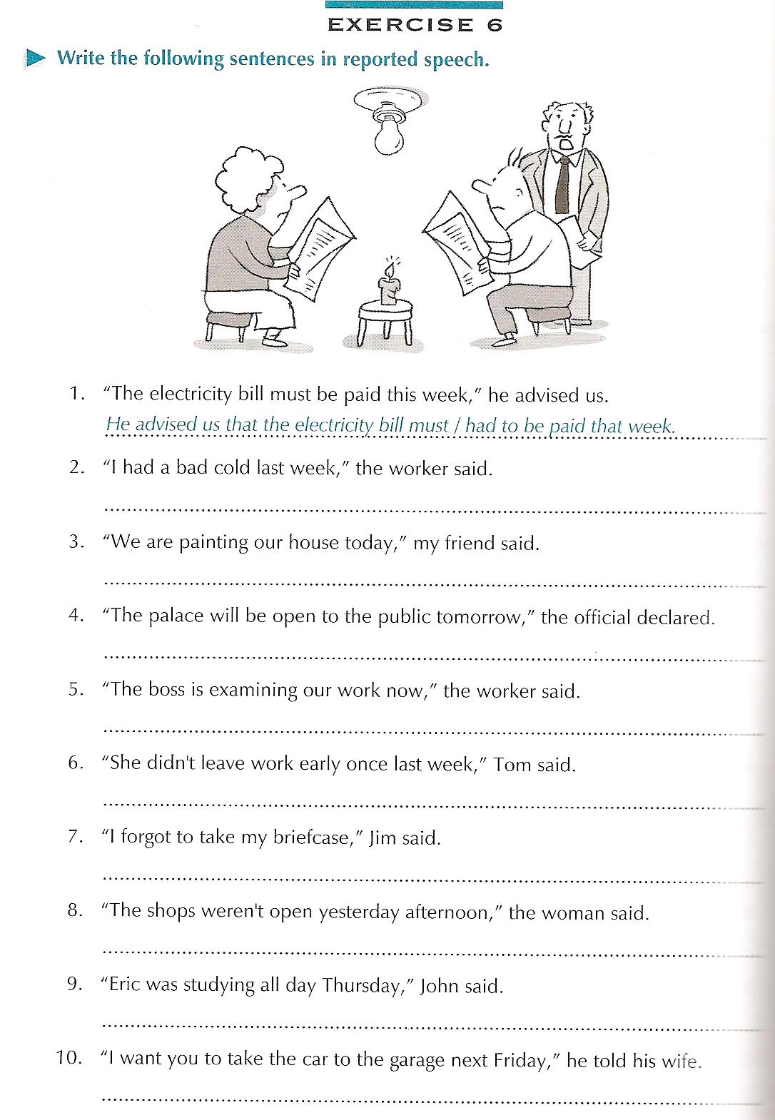 Workbooks tenses practice worksheets : English Site: Grammar