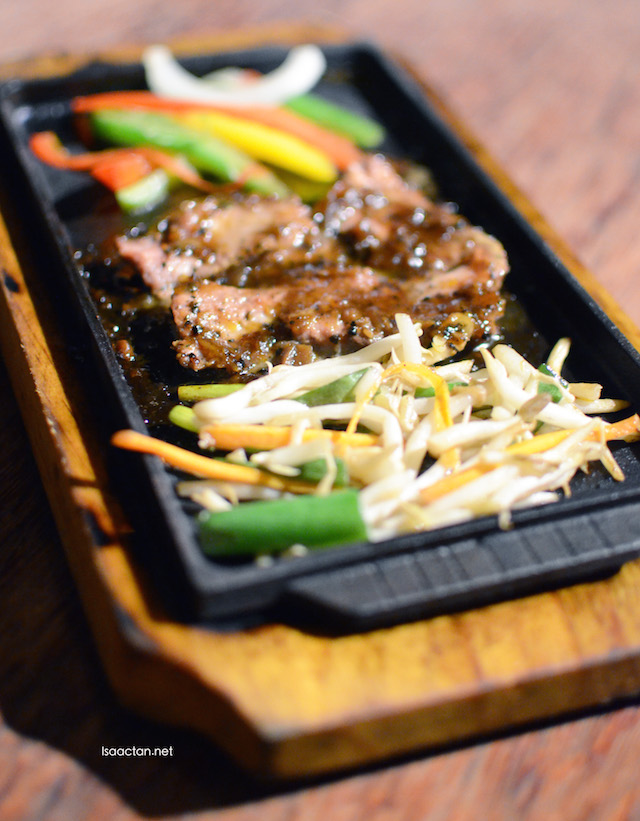 Black Pepper Beef Teppanyaki