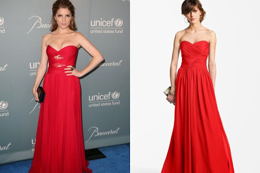 Red-Hot Gown For Prom: Steal Anna Kendrick's Style